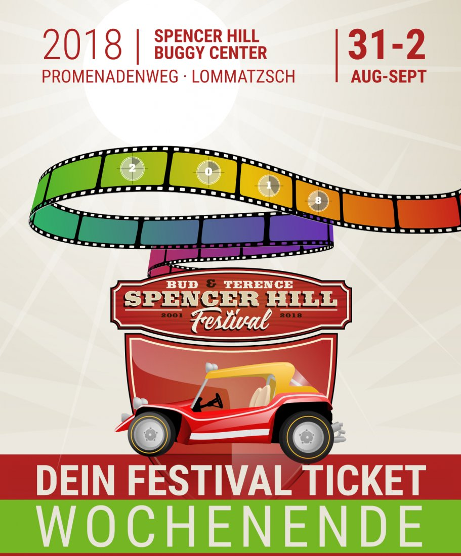 Bud Spencer und Terence Hill Festival 2018 - Weekend Ticket