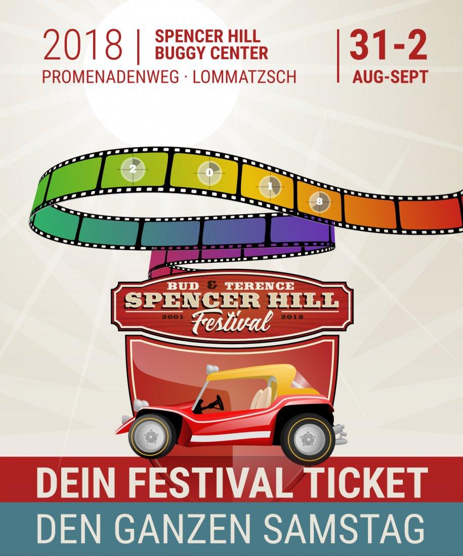 Bud Spencer und Terence Hill Fantreffen 2018 - Samstag Ticket