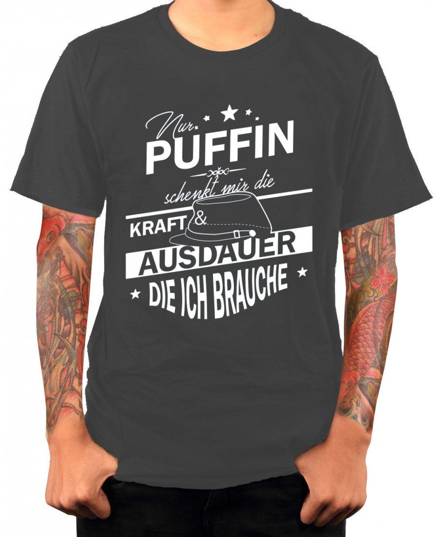 Shirt - Nur Puffin schenkt mir die Kraft