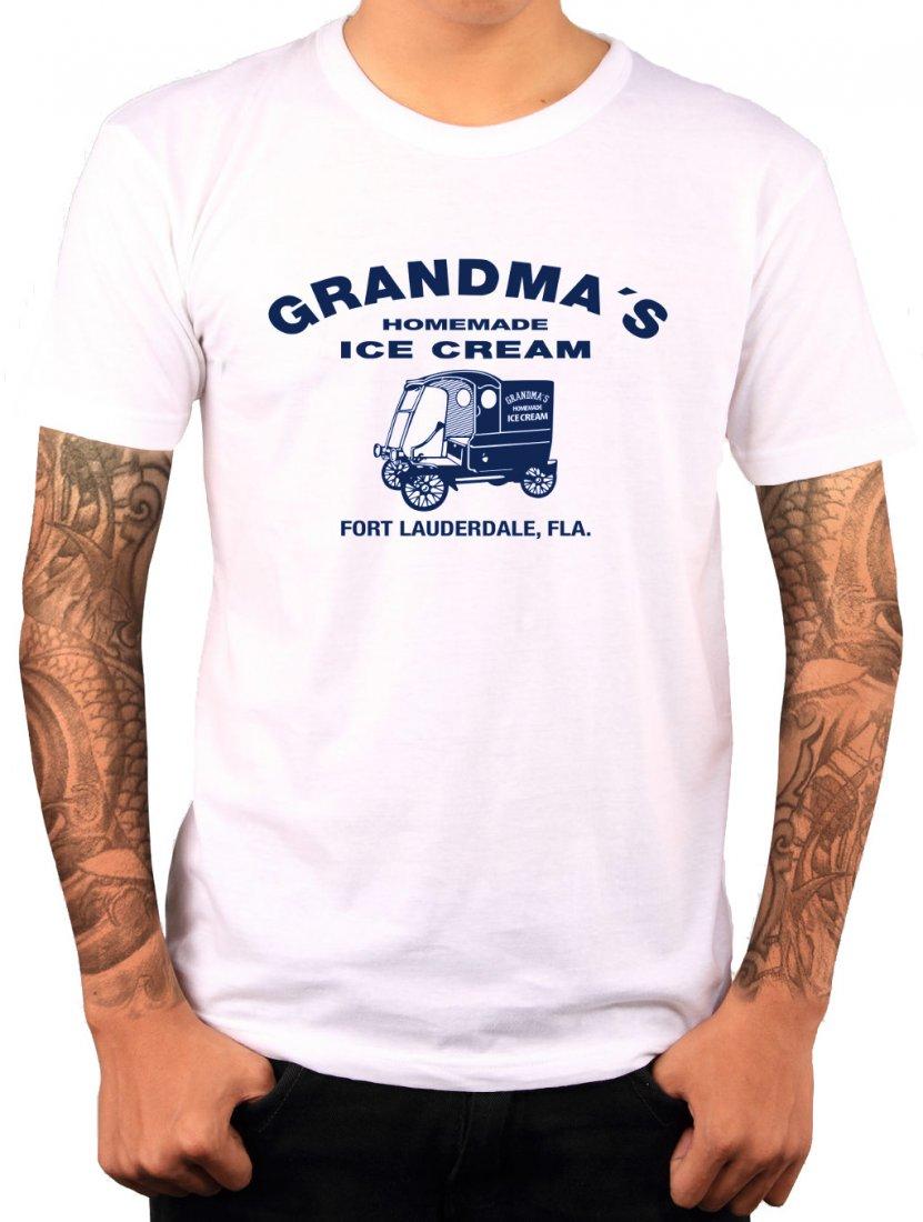 Shirt Grandmas Homemade Ice Cream aus Zwei sind nicht zu bremsen