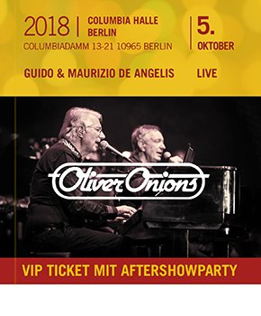 Oliver Onions - 5.10.2018 Berlin with aftershowparty