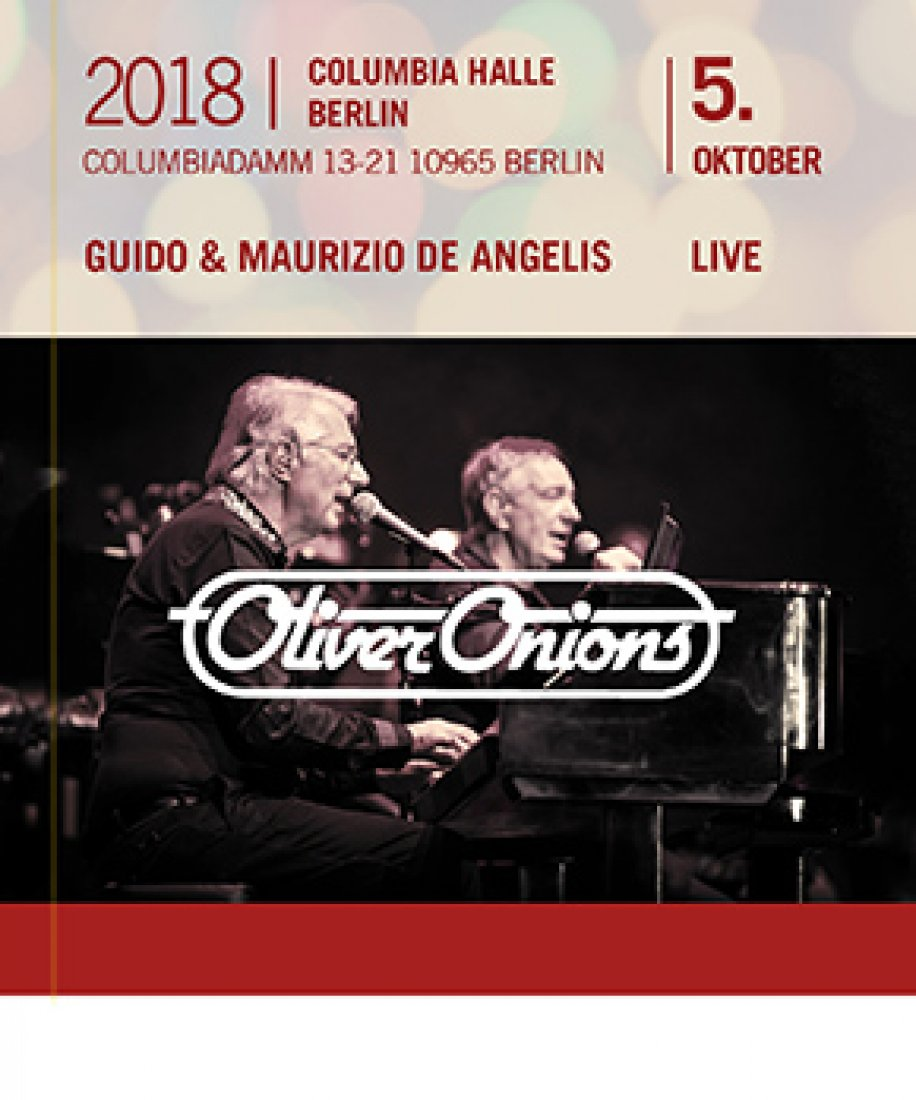 Oliver Onions - 5.10.2018 Berlin