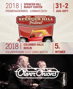 Kombi Ticket Oliver Onions Konzert und Bud Spencer und Terence Hill Festival