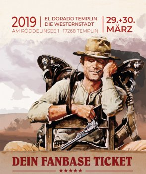 Terence Hill Geburtstagsfeier - Fanbase Party Ticket Limitiert