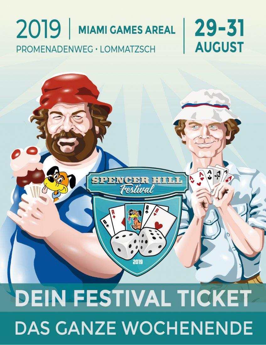 Bud Spencer und Terence Hill Fantreffen 2019 - Wochenend Ticket