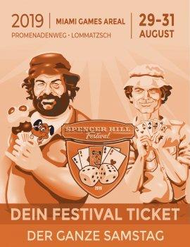 Bud Spencer und Terence Hill Fantreffen 2019 - Samstag Ticket