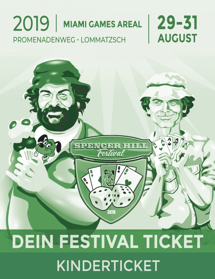 Bud Spencer und Terence Hill Fantreffen 2019 - Kinder Ticket