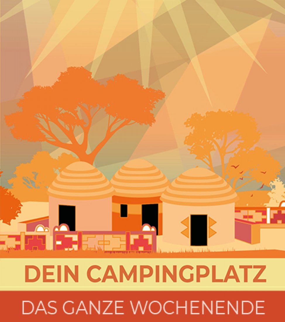 Camping Platz Spencerhill Festival 2020 - Wochenende