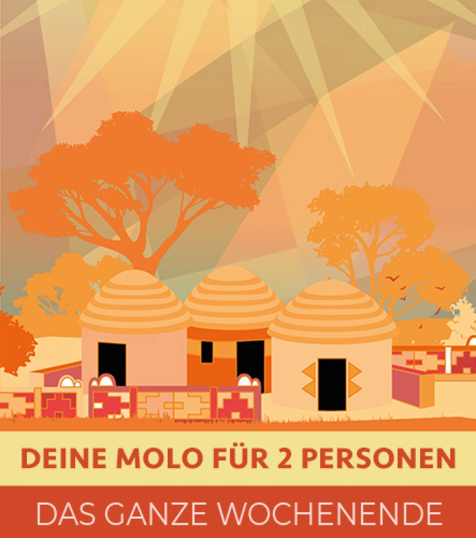 Spencerhill My Molo für 2 Personen  Festival 2020 - Wochenende
